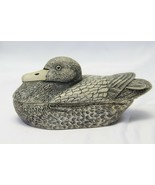 """Duck Made in Scotland Trinket 5.5"""" x 2.75"""" x 2.5"""" Carving  - $45.07"""