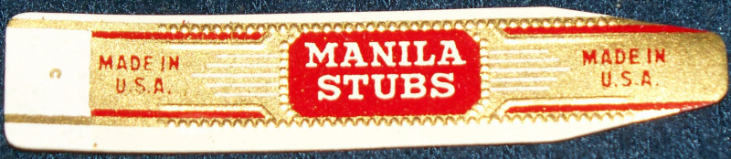 Crane and manilla cigar labels 002