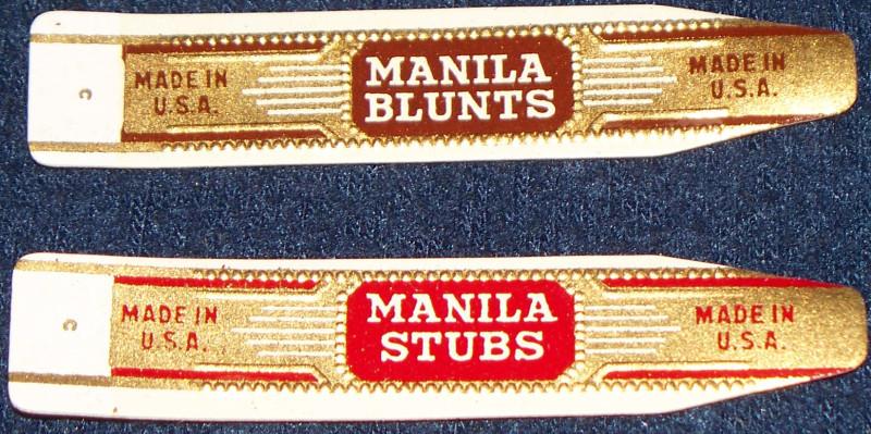 Crane and manilla cigar labels 004