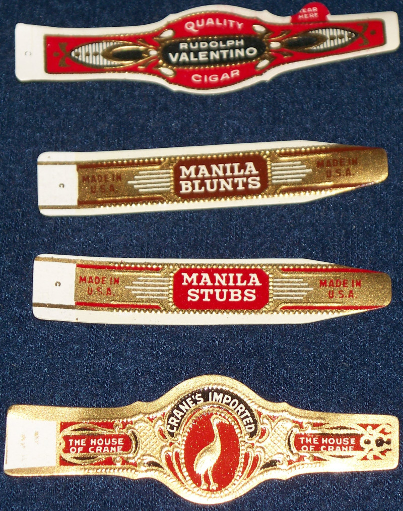 Crane and manilla cigar labels 005