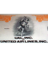 In The Clouds! United Air lines Stock,1970's - $7.95