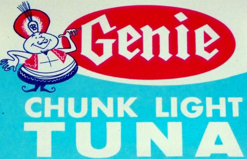 Genie tuna label 002