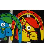 Vintage Horse Wonder Mobile,Blacklight, 1960's - $11.99