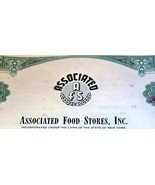 SUCCESS! Associated Food Stores Stock, 1960's - $1.99