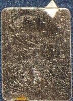 UNIQUE! Black Maria Tobacco Tin Lithograph Tag, 1920's
