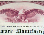 Industrial hardware manufacturing stock certificate 003 thumb155 crop