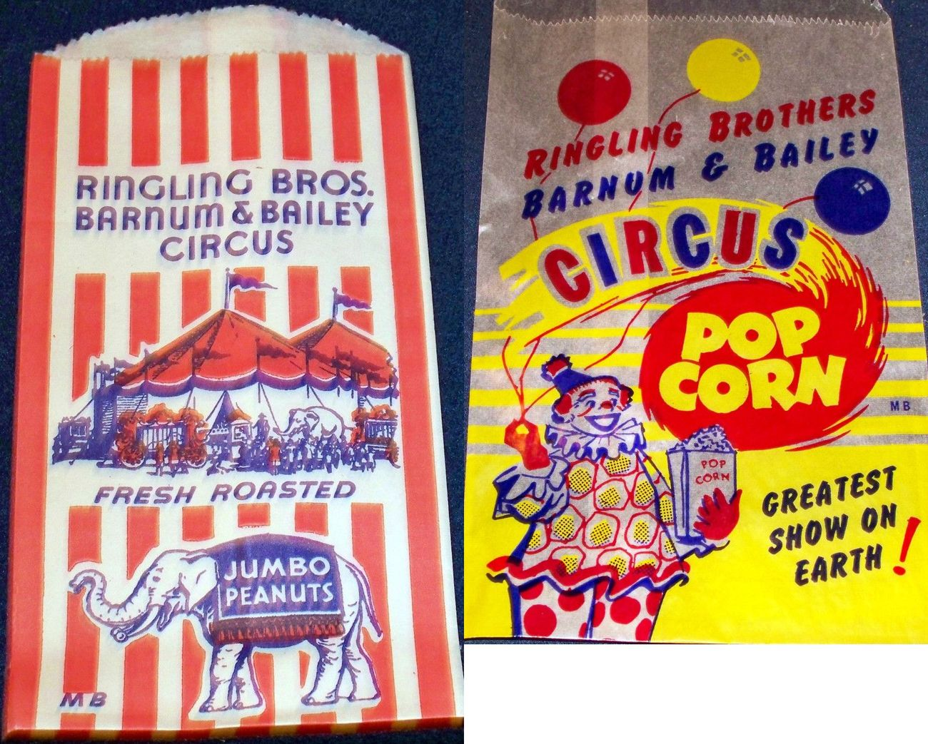 Ringling bros  popcorn peanut bag 004ringling bros  popco c