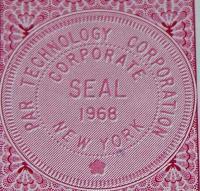 Par Technology Corp. Stock Certificate OVER 100 shares!