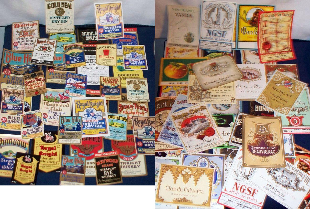 Mass lot 001label collectors set 003 c
