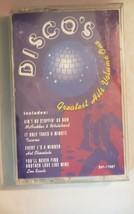 Discos Greatest Hits Volume 1 Cassette, 1995 Capitol Rec - $2.97