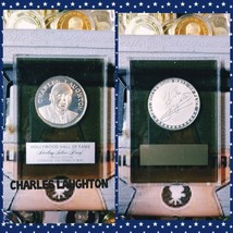 Hollywood Hall of Fame Silver Proof Charles Laughton Signature Hitchcock... - $148.67