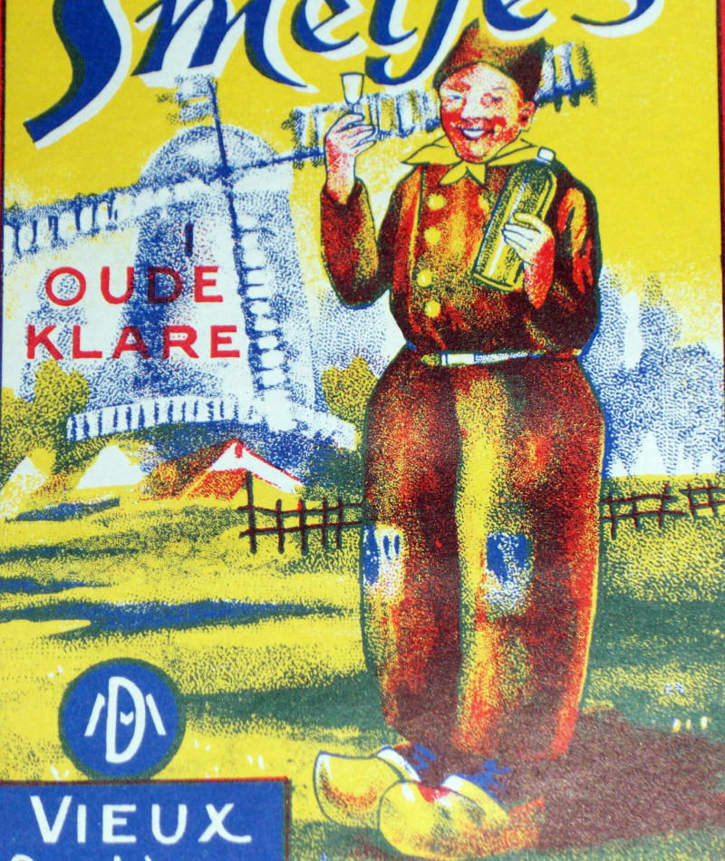 Drunken Monk Large One! Smetje's Label, 1930's