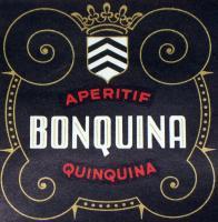 Whet Your Appetite! Aperitif Bonquina Quinquina Label