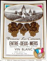 Elite! Entre-deux-mers ( White Wine ) Label, 1930's