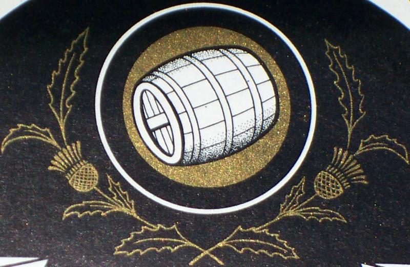 Whiskey keg label 002