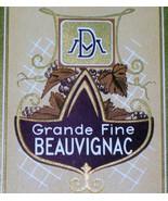 Regal! Grande Fine Beauvignac Wine Label, 1930's - $1.19
