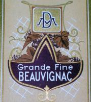 Regal! Grande Fine Beauvignac Wine Label, 1930's