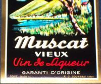 The Original! Muscat Vieux vin de Liqueur Label, 1930's