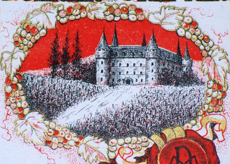 Muscat castle label 002