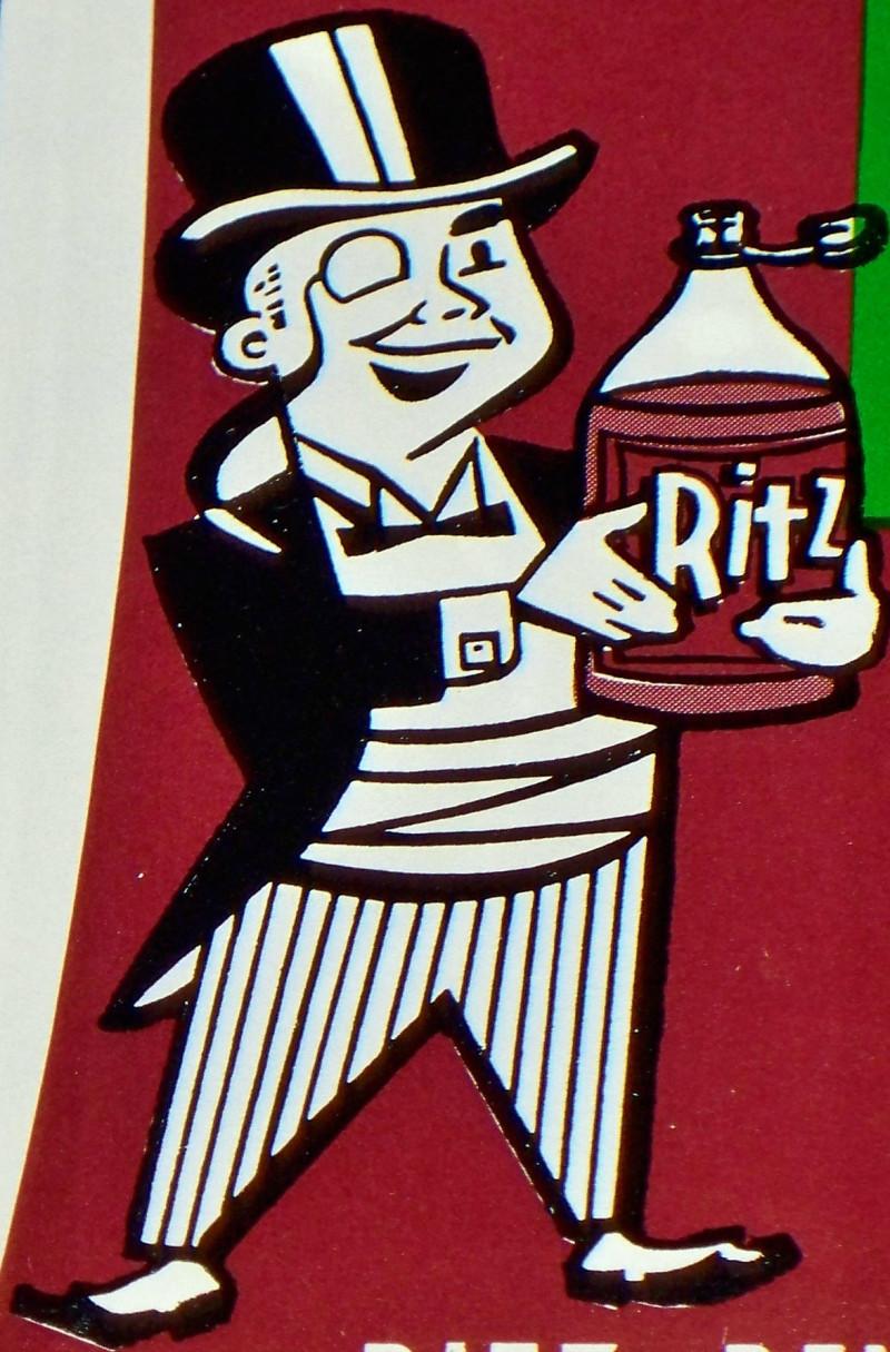 Ritz cola label 002