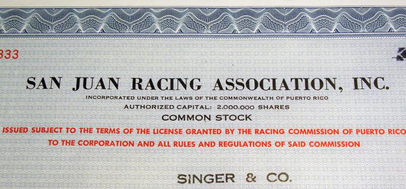 San juan racing stock certificate no vignette 003