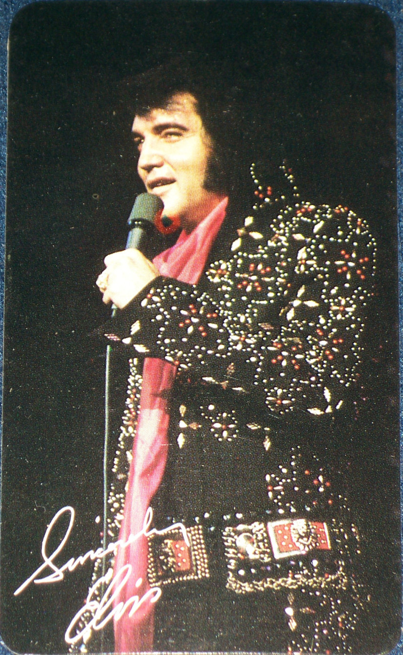 LAST PERFORMANCE! 1977 Elvis Presley Pocket Calendar
