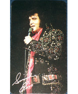 LAST PERFORMANCE! 1977 Elvis Presley Pocket Calendar - $3.79