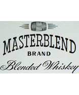 Luxury! Masterblend Whiskey Label, 1930's - $1.19