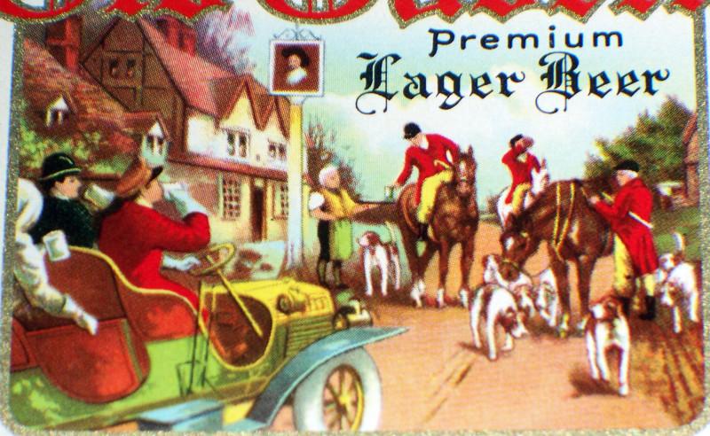 Old tavern label 002