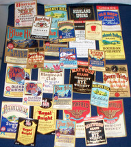 Attention Whiskey Lovers!! 28 Al Co Labels 1930's - $22.99
