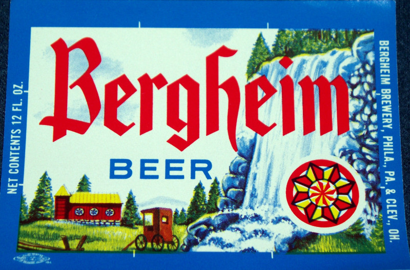Bergheim beer label 001