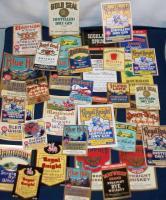 BOSTON, MA ALCo Collectors Set, 36 Labels, 1930's