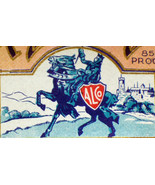 Royal Knight Distilled Dry Gin Label, Pint, 1930's - $1.19