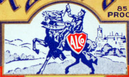 Intrastate Royal Knight Gin Label, 1930's - $1.19