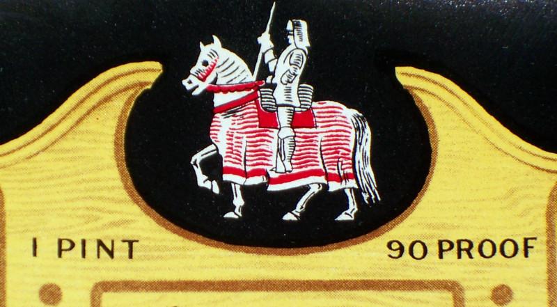 Knight label 7 010