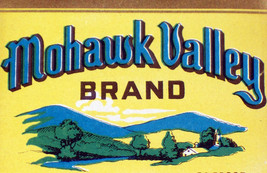 Striking! Mohawk Valley Bourbon Whiskey Label, 1930s - $1.19
