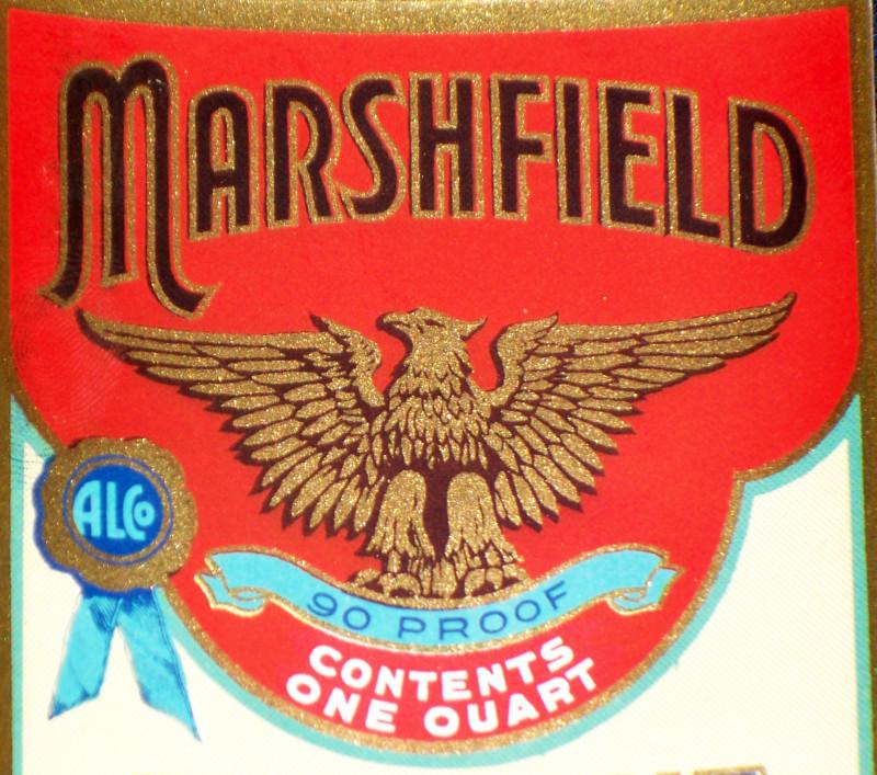 Marshfield label 002
