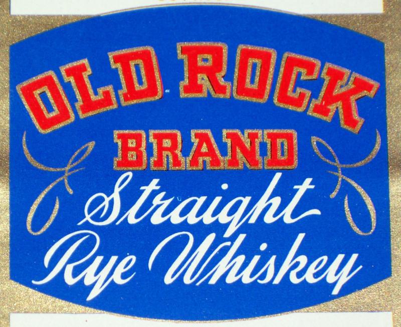 Old rock label 002