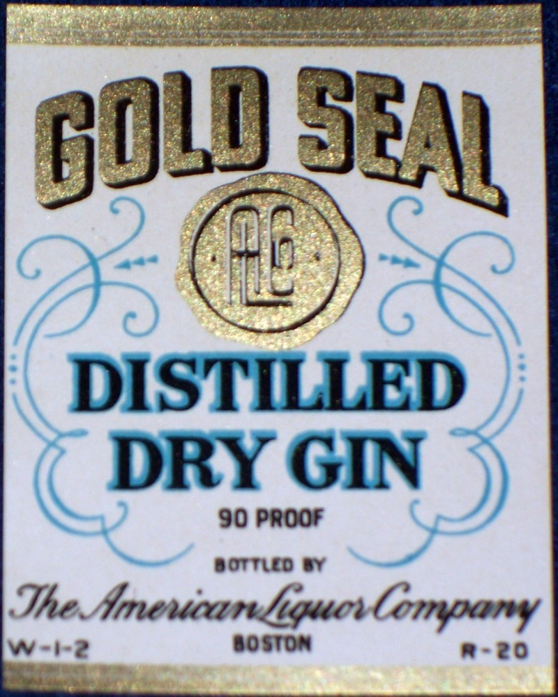 Gold seal label 001
