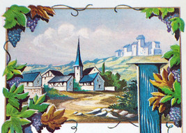 Scenic Litho! Clos St. Jerome (White Wine) Label 1930's - $1.19