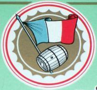Vintage! Grand Fine Moligne ( Wine ) Label, 1930's