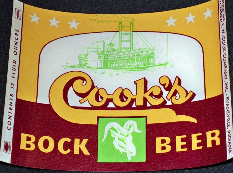 Cooks bock beer 001