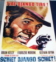 OUTLAWS! Shoot Gringo Shoot 1966 European Film Poster