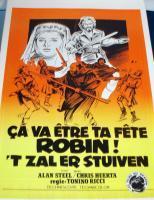 ARCHER & OUTLAW! Robin Hood European Film Poster