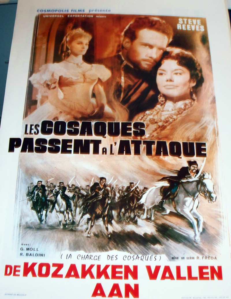 INTRIGUE! The White Warrior 1959 Euro Film Poster