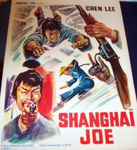 CRUELTY! Shanghai Joe 1974 European Film Poster - $4.99