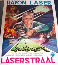 MUTATION!! Laserblast 1978 European Film Poster - $7.99