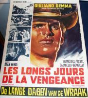REVENGE! Long Days of Vengeance 1967 Euro Film Poster