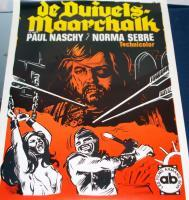 SAVAGERY!! The Devil Marshal European Poster,1970s