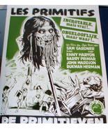 CANNIBALS! The Primitive 1982 European Film Poster - $7.99